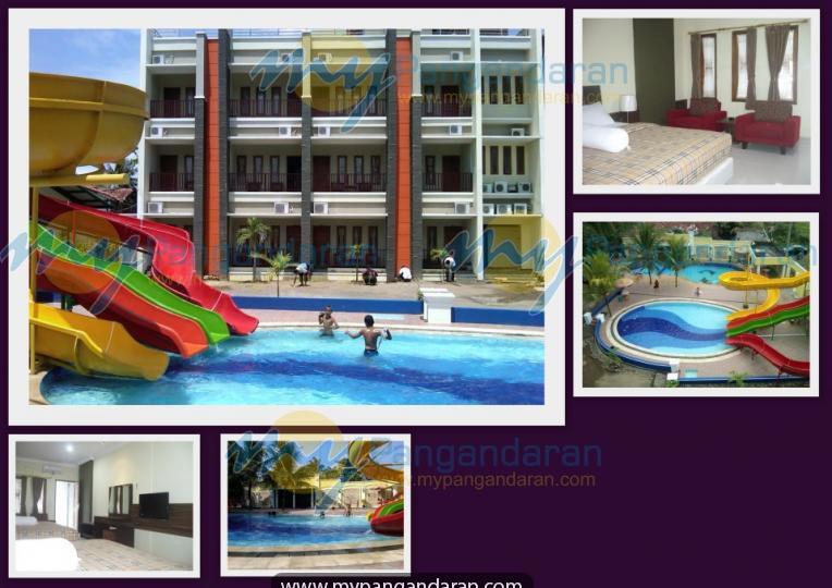 Tampilan malabar hotel Pangandaran