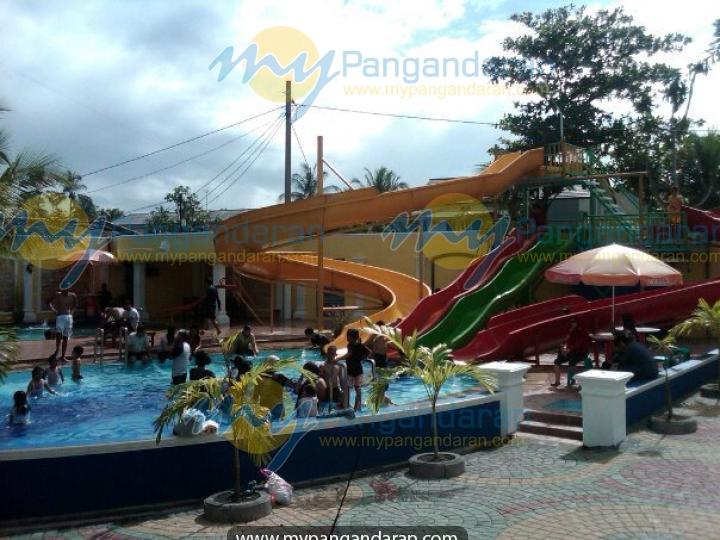 Tampilan waterbom Malabar Hotel Pangandaran
