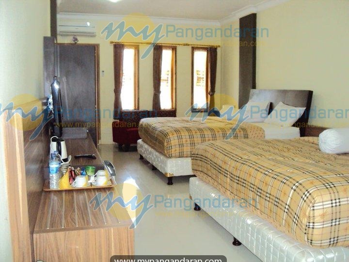 Tampilan Kamar Malabar Hotel